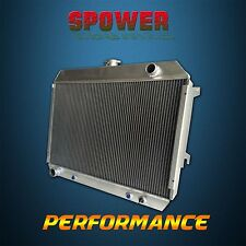 3 Row Aluminum Radiator For Dodge Challenger Charger Plymouth 383-440 V8 68-74