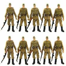 Lot 10 New 3.75 inches Indiana jones movie Russian Soldiers Figure L05