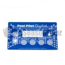AutoPilot LBP0116 DIG-220 Label - for Pool Pilot Power Supply Front Cover, 18258