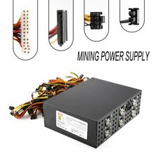 3000W Power Supply For 12 GPU Eth Rig Ethereum Coin Mining Miner Dedicated