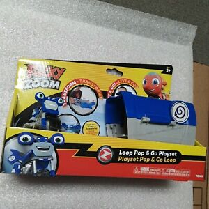 Ricky Zoom - loop Pop and Go Playset *BRAND NEW