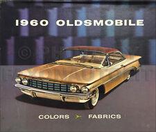 1960 Olds Color Upholstery Dealer Album Manual Dynamic Super 88 98 Oldsmobile