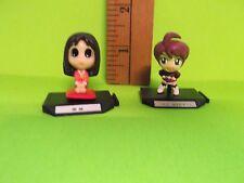 "Left-Azumanga Daioh Right-Gundam Wing 1.25""in Mini Mini Figures Adorable!!"
