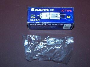 Bulbrite Q10G4/6 6V Halogen Lamp JC Type