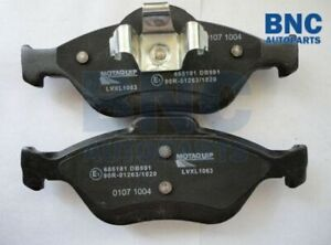 Front Brake Pad Set for FORD FIESTA from 1995 to 2010 - MQ