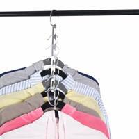 Magicalmai Clothes Drying Hangers Wardrobe Cloth Wonder Hanger Closet Hooks
