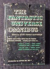 1960 THE FANTASTIC UNIVERSE OMNIBUS HC/DJ VG+/GD+ Asimov Clarke De Camp +++