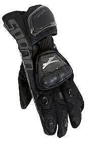 Spada Elite kangaroo Leather motorcycle Gloves Armoured Sport Race Black