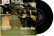 "THE BEATLES - NOWHERE MAN - RARE EP 7"" 45 VINYL RECORD PIC SLV"
