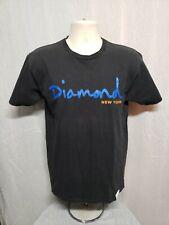 Diamond New York Adult Medium Black TShirt