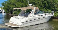 2000 Sea Ray 290 Sundancer Four Winns chaparral Cruiser yacht Regal cobalt