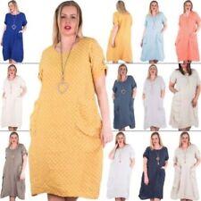 Vestidos de mujer túnica de color principal blanco
