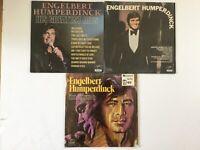 Engelbert Humperdinck 3 NM LPs Orig. His Greatest Hits In Time & self titled S/T