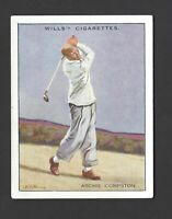 WILLS - FAMOUS GOLFERS - #2 ARCHIE COMPSTON