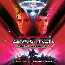 Star Trek V Final Frontier - 2 x CD Complete - Limited Edition - Jerry Goldsmith