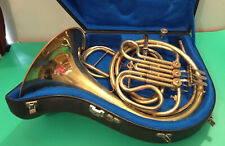 More details for joseph lidl full single f french horn & case