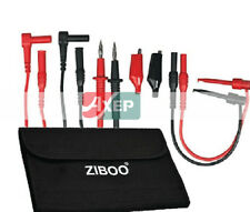 Electronic Electrician Test Lead Kit fit EXTECH TL809 with ZIBOO Accessory Case