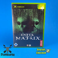 Enter The Matrix - Xbox - Geprüft - USK16 * Gut