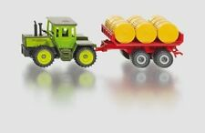 SIKU 1670 Mb-trac With Ball Trailer Tractor Tray