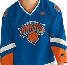 New York Knicks NBA Starter Men's Legend Crossover Hockey Jersey sz 6XL- NWT