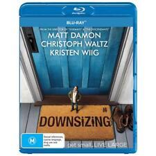 Downsizing Blu-ray BRAND NEW SEALED FREE POSTAGE Matt Damon Kristen Wiig