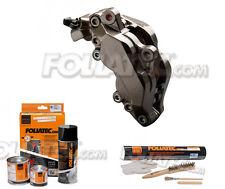 Foliatec Bremssattel Lack carbon grau met. 2170 + Bremssattellack Montage Set