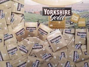 Yorkshire Gold Individually Wrapped Tagged Enveloped One Cup Tea Bag Proper Brew