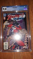 Harley Quinn 1 CGC 9.0 White Pages 1st Solo Title Suicide Squad Movie
