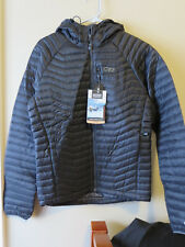 Mens New Outdoor Research Verismo Hooded Jacket Sz Small Color Black