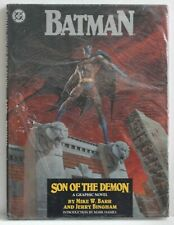 BATMAN: Son of the Demon hard cover book and still in printer's protective wrap.