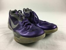 Nike Zoom Hyperdunk 2011 Low Basketball Shoes Men's Purple/Gray Used 13