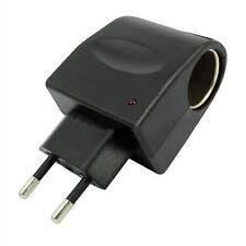220V EU AC to 12V DC Auto Wand Power Adapter Konverter Cigarette Lighter Socket#