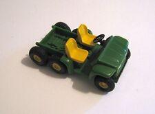 John Deere Gator 6 x 4 ATV ERTL Plastic with Rubber Tires, 3 1/8 Inches Long