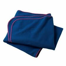 More details for girl guiding blue fleece blanket guides camping sleepovers