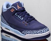 Air Jordan 3 Retro GG youth lifestyle casual sneakers NEW dark purple 441140-506