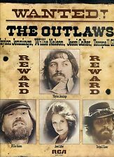 WAYLON JENNINGS willy nelson THE OUTLAWS wanted US 1976 EX LP