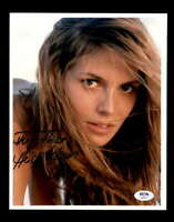 Heidi Klum PSA DNA Coa Hand Signed 8x10 Photo Autograph