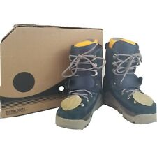 Burton Mens US Size 11 Foundation SI  Snowboard Boots Step In Blue Gray With Box
