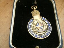 BIRMINGHAM MOTOR CYCLE CLUB MEDAL 1934 VICTORY TRIAL AERIAL NORTON AJS BSA DKW