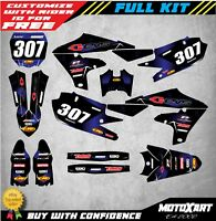 Custom Graphics Full Kit to Fit Yamaha YZF 450 2018 2019 2020 BARBED STYLE