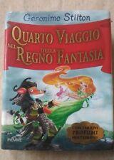 GERONIMO STILTON - QUARTO VIAGGIO NEL REGNO DELLA FANTASIA - 1° Ed. 2008 Piemme