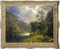 "Old Master-Art Antique Landscape oil Painting forest tree on canvas 30""x40"""