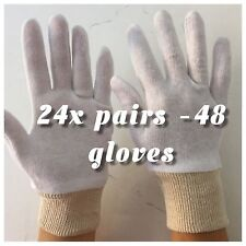 24 x BOXING GLOVES - soft COTTON PERFECT FOR USE UNDER BOXING GLOVES size M