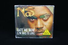 Nas- Hate Me Now- Pufff Daddy RARE Import UK CD SEALED Blaze a 50