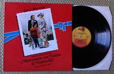 ENNIO MORRICONE / MATRIMONIO CON VIZIETTO - LP (printed in Italy 1985) NEAR MINT