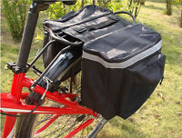 Bike Rear Rack Seat Trunk Saddle Tail Storage Pannier Pouch Bag Bicycle Cycling