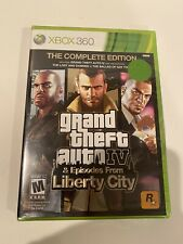 Grand Theft Auto Episodes From Liberty City (Xbox 360) New - Sealed!