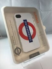 Cygnett London Underground Apple Iphone 4/4S White Case With Screen Protector