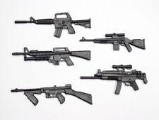 1:10 Scale ABS Machine Guns 5pcs per Pack M-Type for RC Car