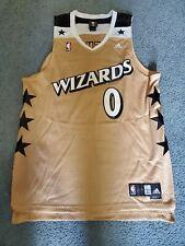 Washington Wizards Vintage Gold Jersey #0 Gilbert Arenas   Size - Men's L +2